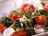 Broccoli and Mozzarella Salad