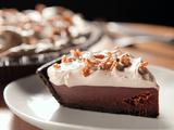 Chocolate and Coffee Cream Pie