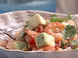 """Shrimp with Avocado """"Ceviche"""""""