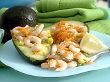 Bay Shrimp and Avocado Salad
