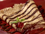 Brandied Cherry Crepes