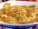 Crab Ravioli in Creamy Tomato Sauce