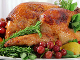 Herb and Pear Glazed Turkey
