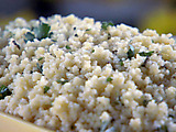 Lime Couscous with Mint