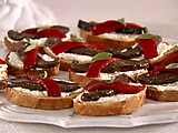 Roasted Portobello Crostini