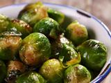 Salt and Pepper Brussels Sprouts