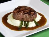 Grilled Tenderloin with Potato Puree