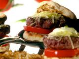 Perfect Summer Basil Burger