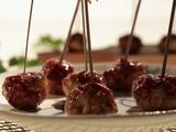 Spicy Turkey Lollipops