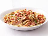 Spaghetti With Spicy Tuna Marinara Sauce