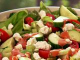 Green Salad with Homemade French Dressing