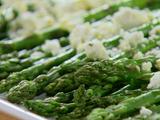 Roasted Asparagus with Feta Cheese