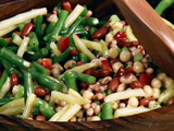 Five Bean Salad with Champagne Vinaigrette