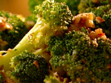 Broccoli with Pecan Brown Butter
