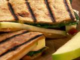 Smoked Cheddar and Apple Quesadilla