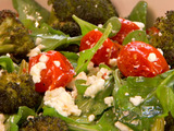 Roasted Broccoli and Feta Salad