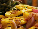 Grilled Pineapple and Onion Salad