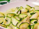 Zucchini Ribbons with Herbed Butter