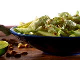 Apple-Lime-Peanut Slaw