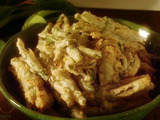 Fried Green Bean Bundles