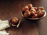 Parker House Rolls With Sea Salt