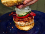 Pan-seared Salmon Burgers