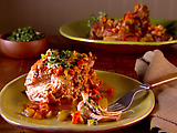 Turkey Osso Buco with Parsley and Rosemary Gremolata