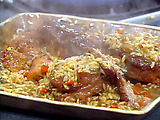 "Emeril's Oven-Braised Osso Buco with Orzo ""Risotto"""
