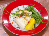 Roasted Flounder Stuffed with a Shrimp and Cornbread Dressing