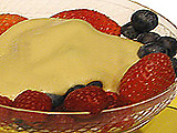 Zabaglione with Fresh Berries