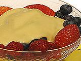 Zabaglione with Fresh Berries