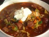 Kielbasa, Potato and Cabbage Soup