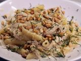 Chicken with Fennel-Cream Sauce and Penne