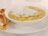 Mulligatawny and Green Raita