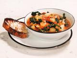 Roasted Red Pepper Minestrone