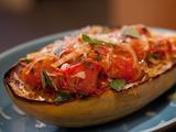 Spicy Roasted Tomato Marinara with Spaghetti Squash
