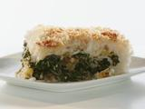 Cheesy Rice Cake Stuffed with Herbs and Greens