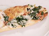 Swiss Chard au Gratin French Bread Pizzas