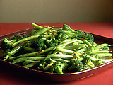 Broccoli and Green Beans