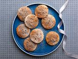 Orange Bourbon Ginger Cookies