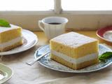 Golden Sponge Cake with Creamy Filling