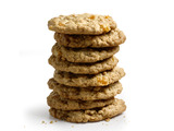 Nutty White Chocolate and Peach Oatmeal Cookies