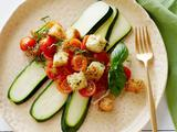 Summer Zucchini and Tomato Panzanella Salad