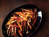 Carrots With Raisin-Fennel Vinaigrette