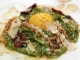 Spinach Fettuccine With Parmigiano-Reggiano