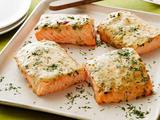Mustard-Maple Roasted Salmon