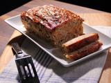 Turkey Bacon Cheeseburger Turkey Loaf