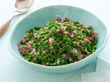 Peas and Prosciutto