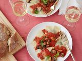 Spinach and Mushroom Ravioli