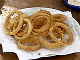 Big and Crispy Onion Rings
